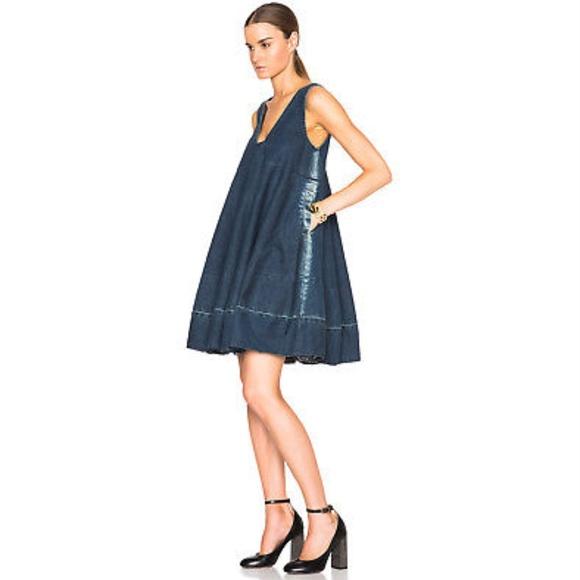 Rachel Comey Dresses & Skirts - Rachel Comey 4 Blue FLEE Dress Denim Tent Chambray